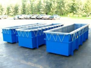 صناعة أحواض معالجة الالومنيوم مصنوعة من الصاج وتم تبطينها بألواح PVC